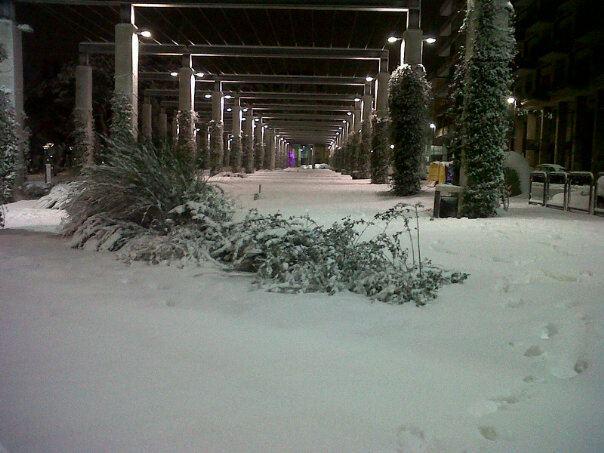 avellino con la neve febbraio 2012