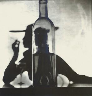 Irving Penn, Girl Behind Bottle, 1949