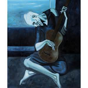 picasso uomo con chitarra